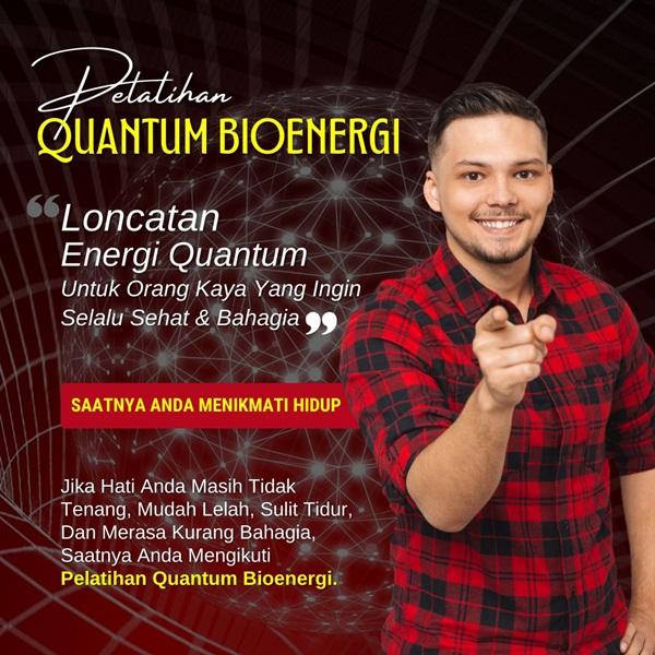 Pelatihan Quantum Bioenergi